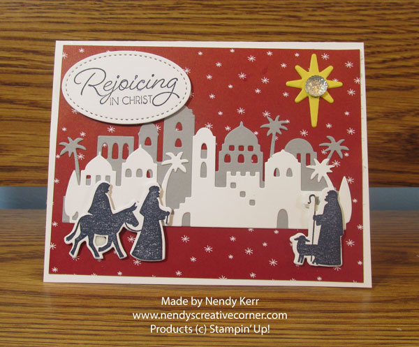 Rejoicing in Christ Christmas Card