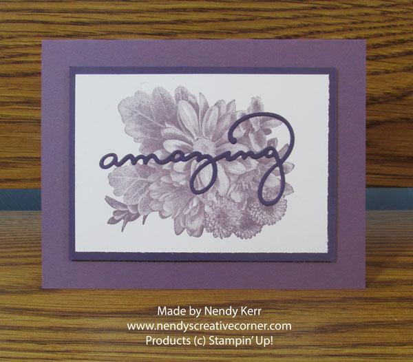 Amazing Heartfelt Blooms Card