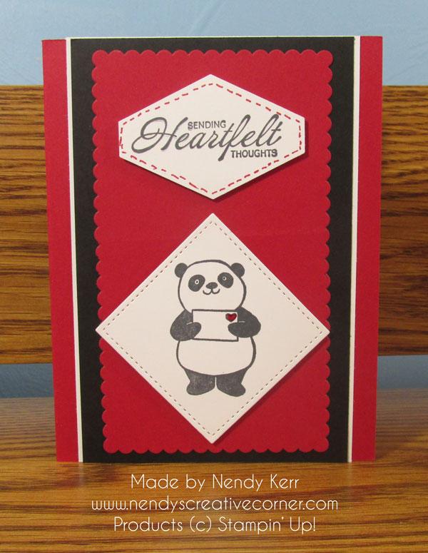 Heartfelt Panda
