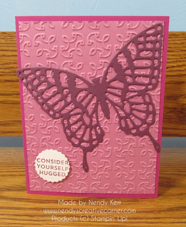 Fresh Fig Butterfly Card