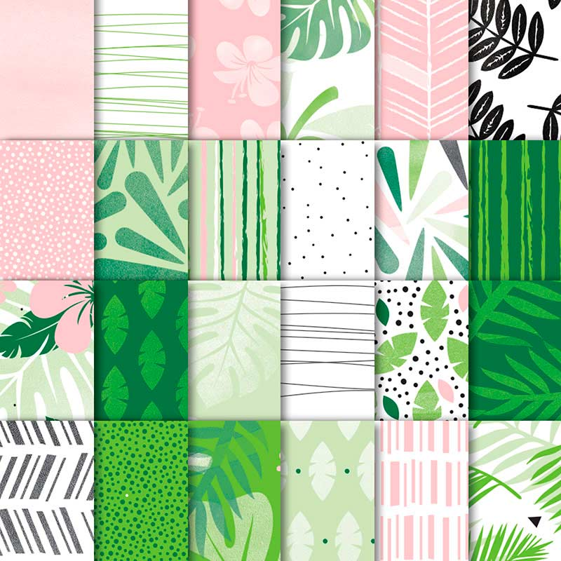 Tropical Escape Designer Series Paper