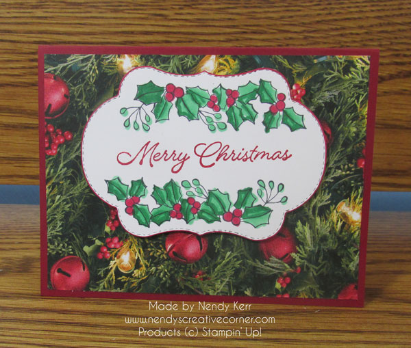 Blended Seasons Christmas Card
