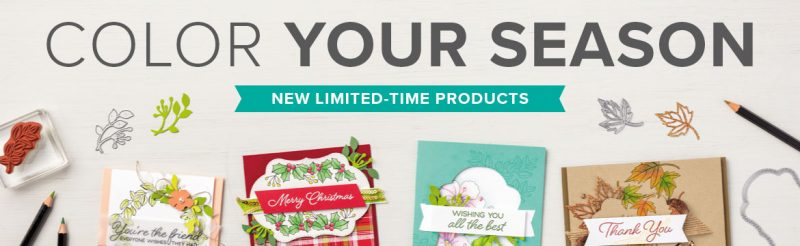 Color Your Seasons Limited Time Products