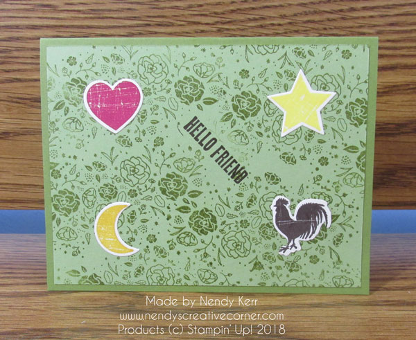 Love your Stamps Challenge #2-Use Uninked stamps