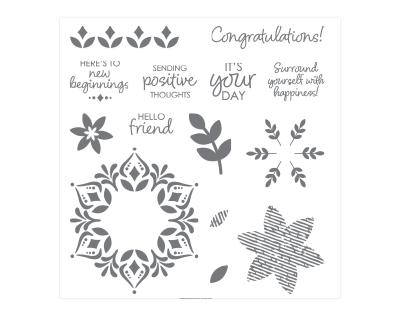 Nov 1-30 Happiness Surrounds stamp set