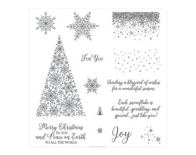 Nov 1-30 Snow is Glistening stamp set