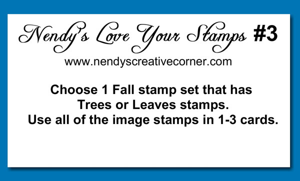 Love Your Stamps Challenge #3