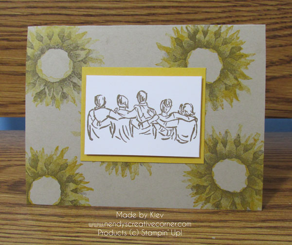 Flowers and Family Card