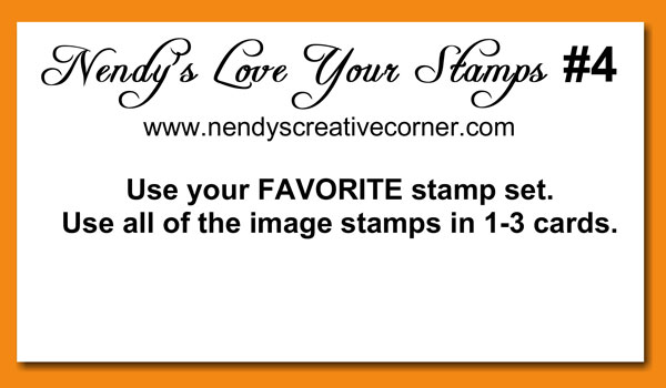 Love Your Stamps Challenge #4