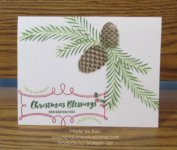 Christmas Pines Christmas Card