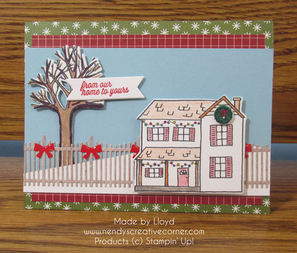 Lloyd's Festive Farmhouse Card
