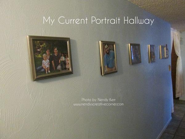 Current Portrait Hallway