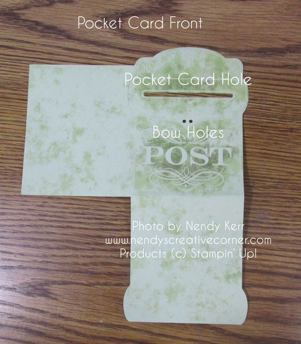 Front Pocket Card Base
