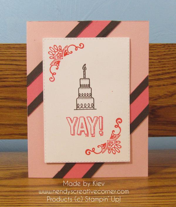 Yay! Cake Card