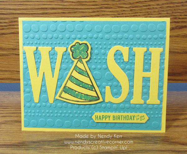 Happy Birthday Wish Card
