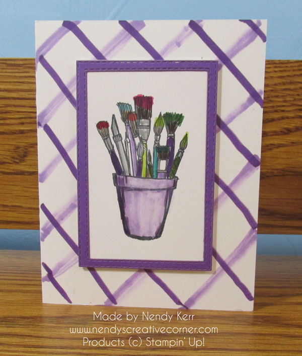 Paintbrushes Card